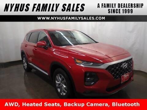 2020 Hyundai Santa Fe for sale at Nyhus Family Sales in Perham MN