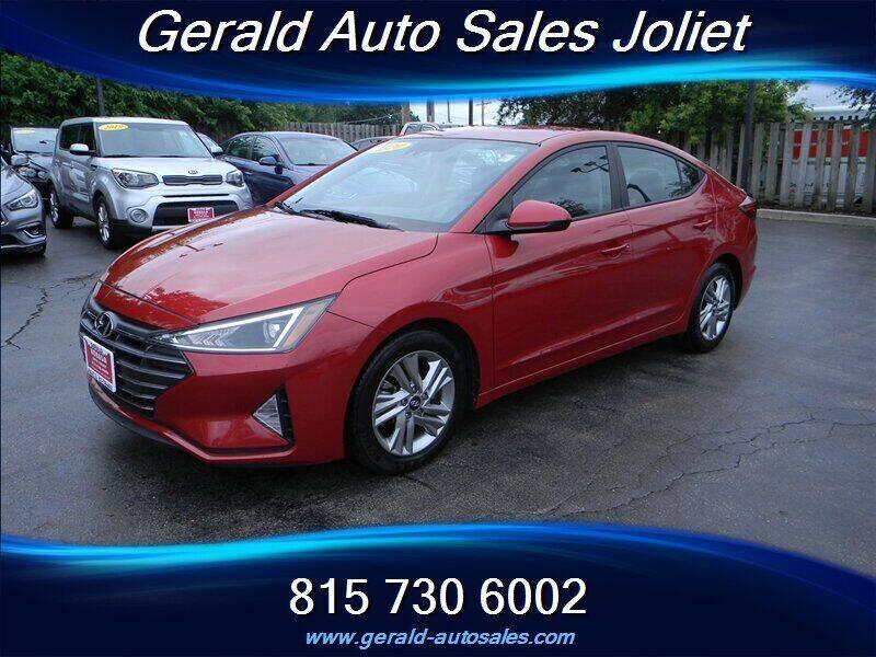 2020 Hyundai Elantra for sale at Gerald Auto Sales in Joliet IL