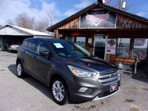 2017 Ford Escape for sale at LEE AUTO SALES in McAlester OK