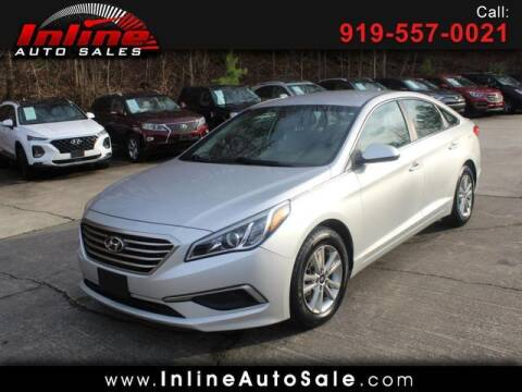 2017 Hyundai Sonata for sale at Inline Auto Sales in Fuquay Varina NC