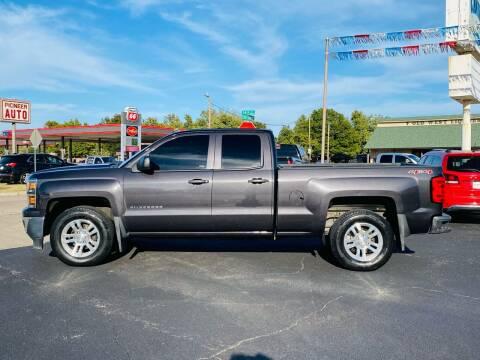 2014 Chevrolet Silverado 1500 for sale at Pioneer Auto in Ponca City OK