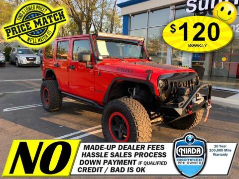 2015 Jeep Wrangler Unlimited for sale at AUTOFYND in Elmont NY