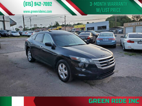 2012 Honda Crosstour for sale at Green Ride Inc in Nashville TN