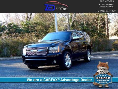 2010 Chevrolet Tahoe for sale at Zed Motors in Raleigh NC