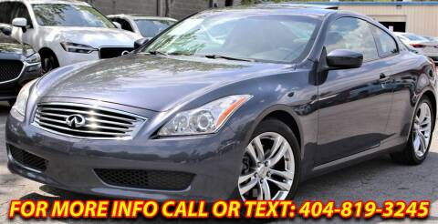 2009 Infiniti G37 Coupe for sale at Five Brothers Auto Sales in Roswell GA