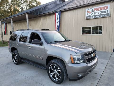 2012 Chevrolet Tahoe for sale at Premier Auto Center in Cartersville GA