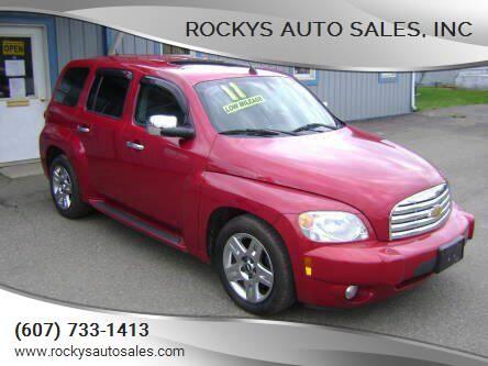 2011 Chevrolet HHR for sale at Rockys Auto Sales, Inc in Elmira NY