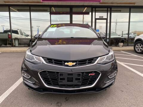2017 Chevrolet Cruze for sale at DRIVEhereNOW.com in Greenville NC