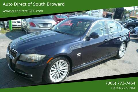 2009 BMW 3 Series for sale at Auto Direct of South Broward in Miramar FL
