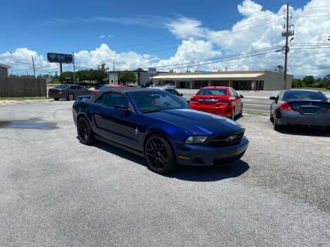 2012 Ford Mustang for sale at Lucky Motors in Panama City FL