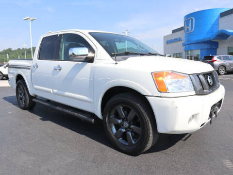 2012 Nissan Titan for sale at RUSTY WALLACE HONDA in Knoxville TN