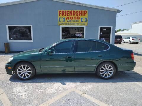1998 Lexus GS 300 for sale at Friendship Auto Sales in Broken Arrow OK
