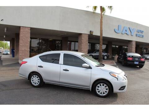2017 Nissan Versa for sale at Jay Auto Sales in Tucson AZ