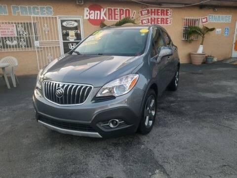2013 Buick Encore for sale at VALDO AUTO SALES in Miami FL