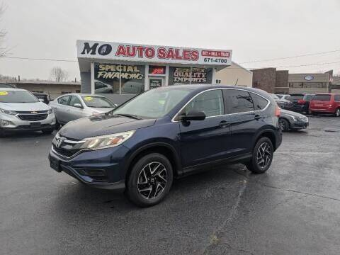 2016 Honda CR-V for sale at Mo Auto Sales in Fairfield OH