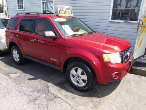 2008 Ford Escape for sale at Fulmer Auto Cycle Sales - Fulmer Auto Sales in Easton PA