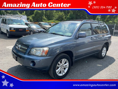 2007 Toyota Highlander Hybrid for sale at Amazing Auto Center in Capitol Heights MD