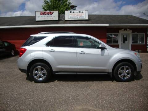 2011 Chevrolet Equinox for sale at G and G AUTO SALES in Merrill WI