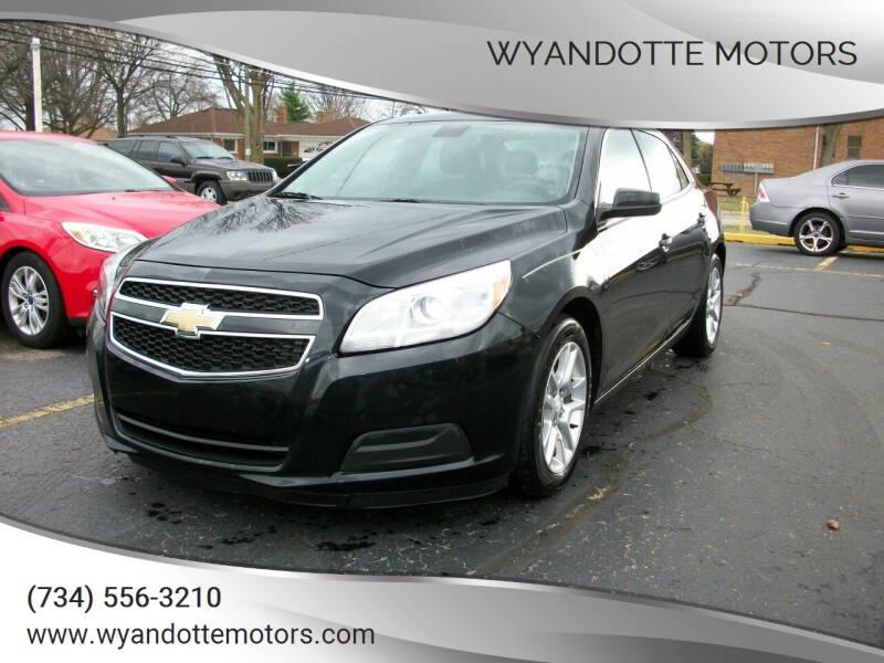 2013 Chevrolet Malibu for sale at Wyandotte Motors in Wyandotte MI