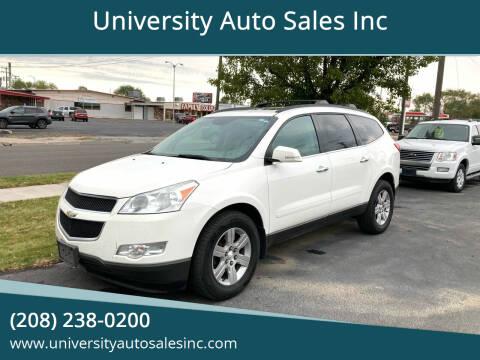 2011 Chevrolet Traverse for sale at University Auto Sales Inc in Pocatello ID