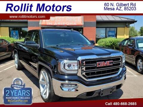 2017 GMC Sierra 1500 for sale at Rollit Motors in Mesa AZ