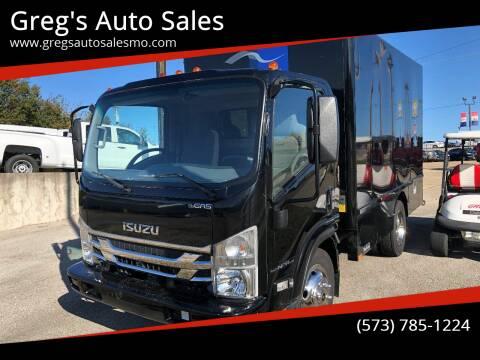 2018 Isuzu NPR for sale at Greg's Auto Sales in Poplar Bluff MO