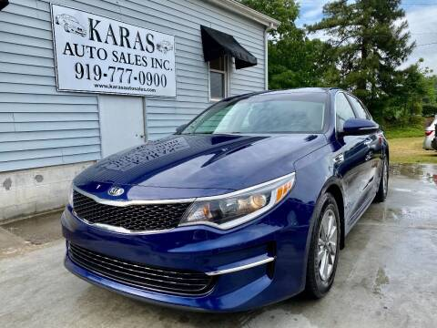 2016 Kia Optima for sale at Karas Auto Sales Inc. in Sanford NC