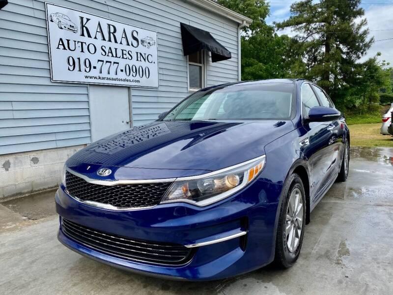 2016 Kia Optima for sale at Karas Auto Sales Inc. in Sanford NC