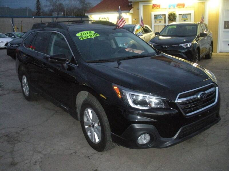 2018 Subaru Outback for sale at One Stop Auto Sales in North Attleboro MA