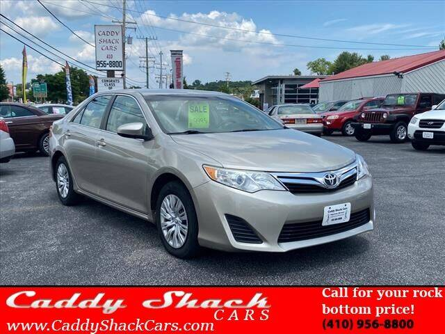 2013 Toyota Camry for sale at CADDY SHACK CARS in Edgewater MD