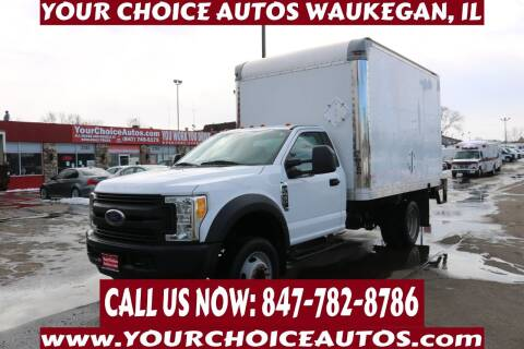2017 Ford F-450 Super Duty for sale at Your Choice Autos - Waukegan in Waukegan IL