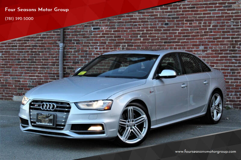 2014 Audi S4 for sale at Four Seasons Motor Group in Swampscott MA