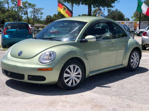 2010 Volkswagen New Beetle for sale at Pro Cars Of Sarasota Inc in Sarasota FL
