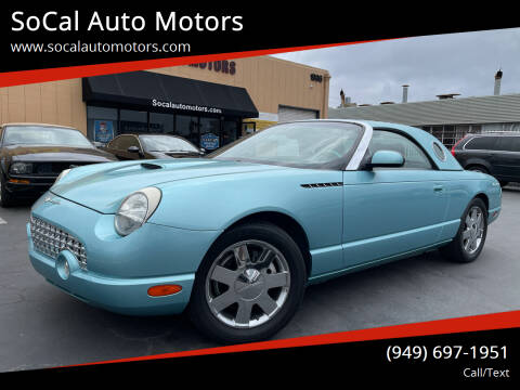 2002 Ford Thunderbird for sale at SoCal Auto Motors in Costa Mesa CA