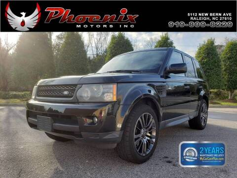 2011 Land Rover Range Rover Sport for sale at Phoenix Motors Inc in Raleigh NC