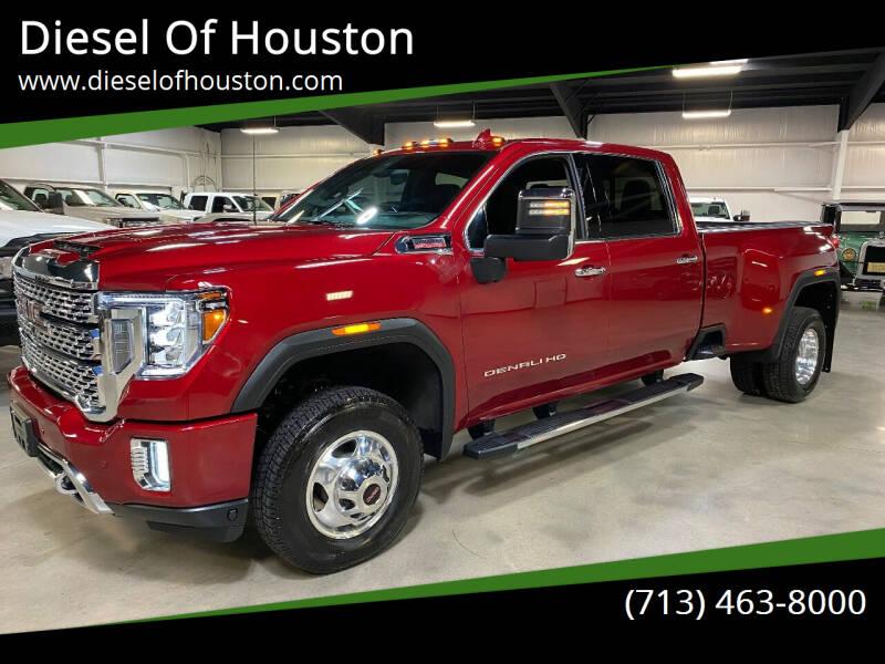 2020 GMC Sierra 3500HD for sale at Diesel Of Houston in Houston TX