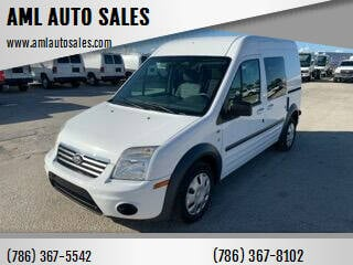 2013 Ford Transit Connect Cargo for sale at AML AUTO SALES - Cargo Vans in Opa-Locka FL