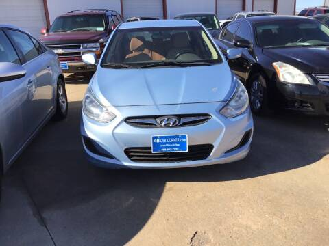2014 Hyundai Accent for sale at 4 B CAR CORNER in Anadarko OK