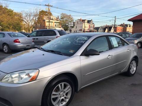 2006 Pontiac G6 for sale at Chambers Auto Sales LLC in Trenton NJ