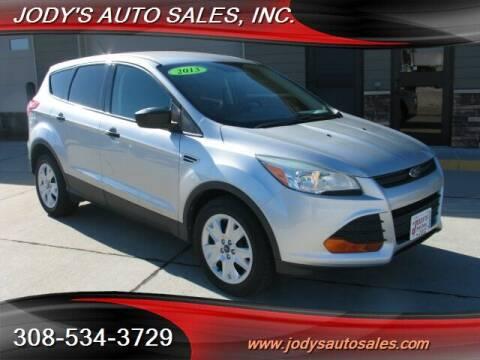 2013 Ford Escape for sale at Jody's Auto Sales in North Platte NE