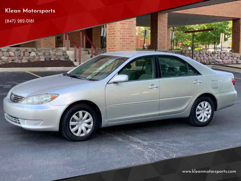 2005 Toyota Camry for sale at Klean Motorsports in Skokie IL