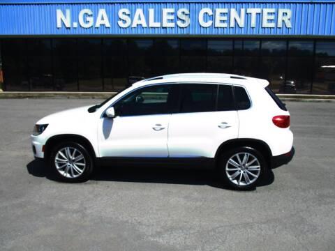 2012 Volkswagen Tiguan for sale at NORTH GEORGIA Sales Center in La Fayette GA