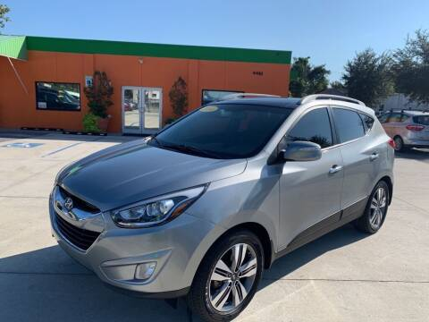 2014 Hyundai Tucson for sale at Galaxy Auto Service, Inc. in Orlando FL
