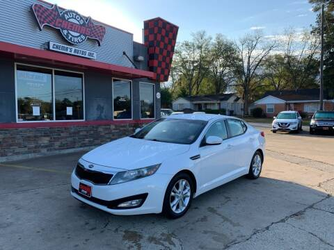 2012 Kia Optima for sale at Chema's Autos & Tires in Tyler TX
