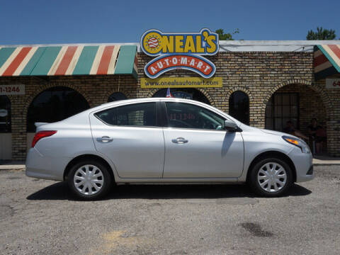 2019 Nissan Versa for sale at Oneal's Automart LLC in Slidell LA