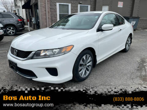 2015 Honda Accord for sale at Bos Auto Inc in Quincy MA