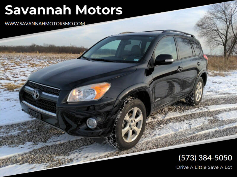 2011 Toyota RAV4 for sale at Savannah Motors in Elsberry MO