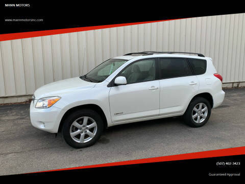2007 Toyota RAV4 for sale at MANN MOTORS in Albert Lea MN
