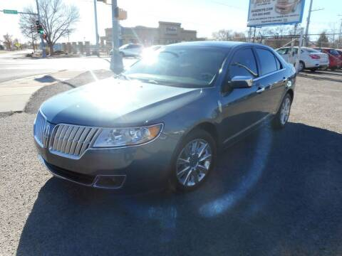 2012 Lincoln MKZ for sale at AUGE'S SALES AND SERVICE in Belen NM