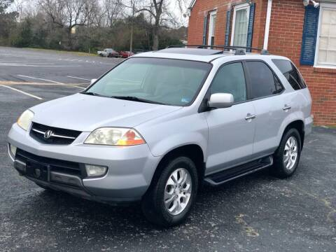 2003 Acura MDX for sale at Carland Auto Sales INC. in Portsmouth VA